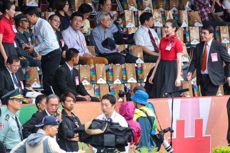 20161010-前總統陳水扁原訂10日出席中華民國105年國慶大會,因遭中監反對故取消行程。(顏麟宇攝)