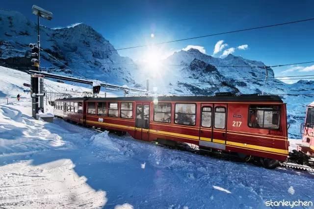 冰川列車。(圖/Klook提供)