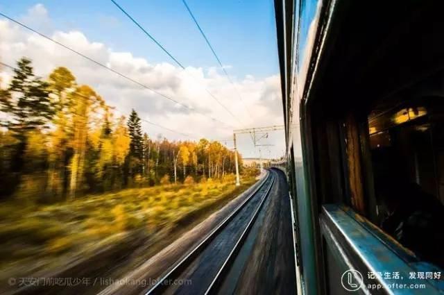西伯利亞大鐵路。(圖/Klook提供)