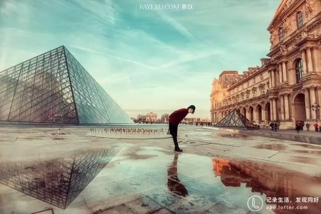 法國羅浮宮。(圖/Klook提供)