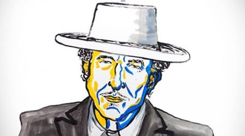 2016諾貝爾文學獎由美國作家巴布狄倫(Bob Dylan)獲獎。(諾貝爾官網)