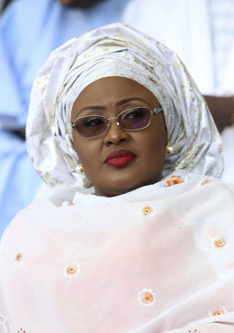 奈及利亞第一夫人艾依莎・布哈里(Aisha Buhari)。(美聯社)