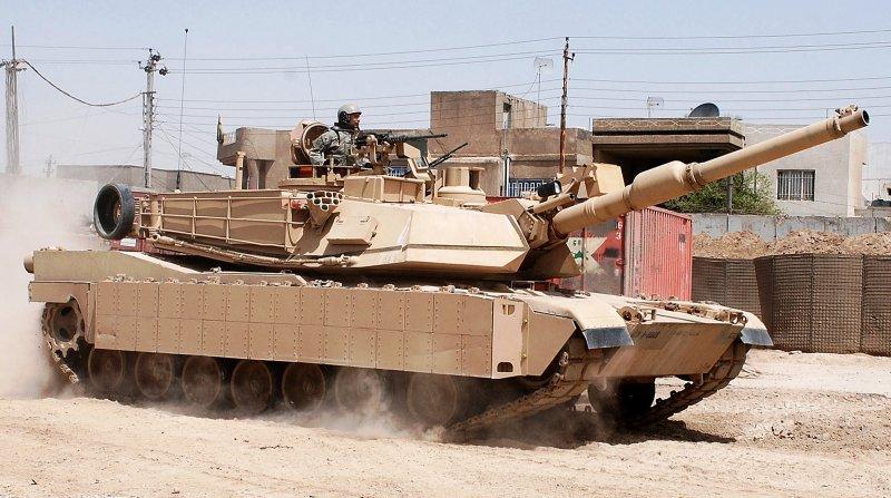 美軍M1A2戰車(Wikipedia / Public Domain)