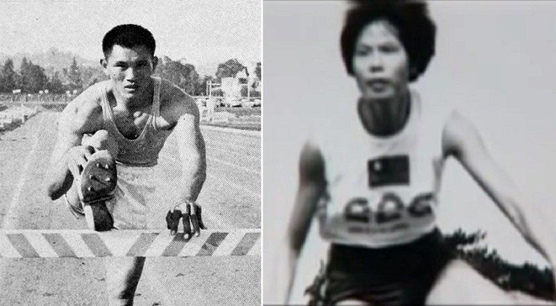 楊傳廣(左/維基百科)和紀政(右/youtube),為「中華民國」爭得奧運獎牌。