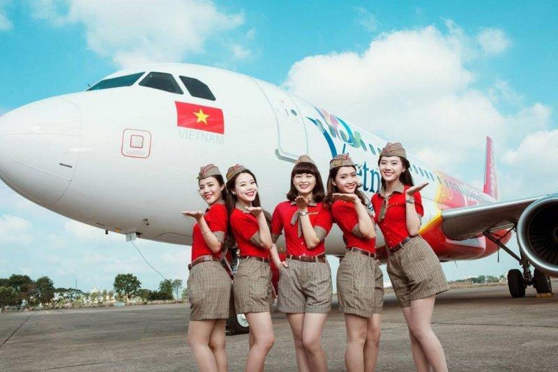 越捷航空於6月已開通台南-胡志明市新航線,雙邊都能多加利用新航線深入認識彼此。(圖/CREW PANEL@youtube)