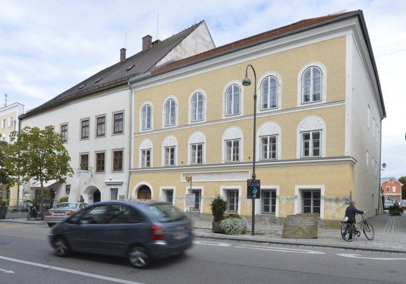 納粹領袖希特勒出生的故居,奧地利政府正在研擬拆除。(美聯社)