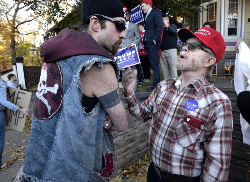 美國共和黨總統候選人川普的支持者(AP)