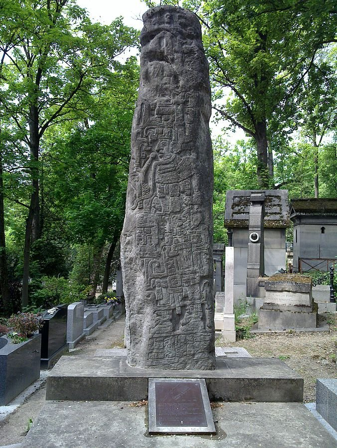 諾貝爾文學獎得主米格爾.安赫爾.阿斯圖里亞斯(Miguel Ángel Asturias)之墓(Gede@Wikipedia / CC BY-SA 3.0)