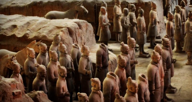 始皇陵兵馬俑。(秦始皇帝陵博物館官網)