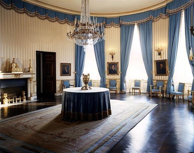 賈桂琳重新裝潢後的白宮。(wikipedia/public domain)