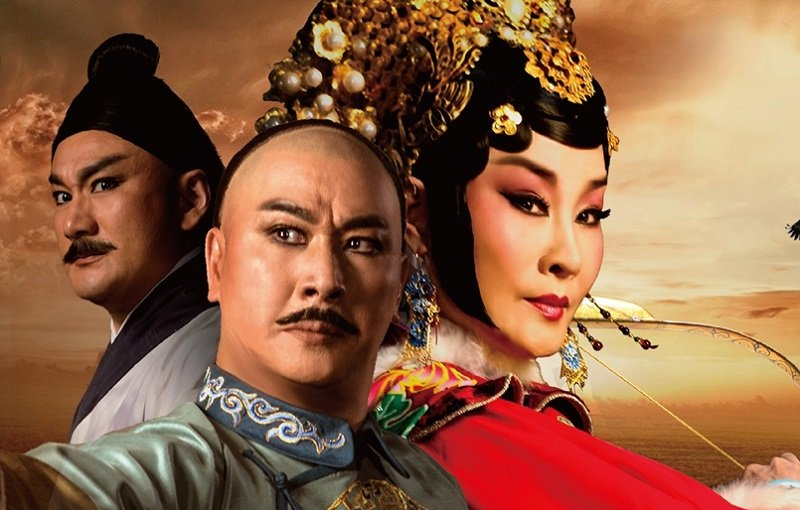 國光劇團2016新編京劇《孝莊與多爾袞》。(取自國家表演藝術中心官網)