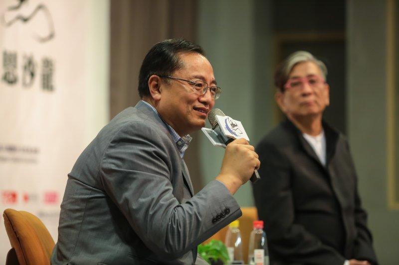 20161022-前BBC中文總監李文22日出席思沙龍從英國BBC的改變看全球媒體的大解構論壇。(顏麟宇攝)
