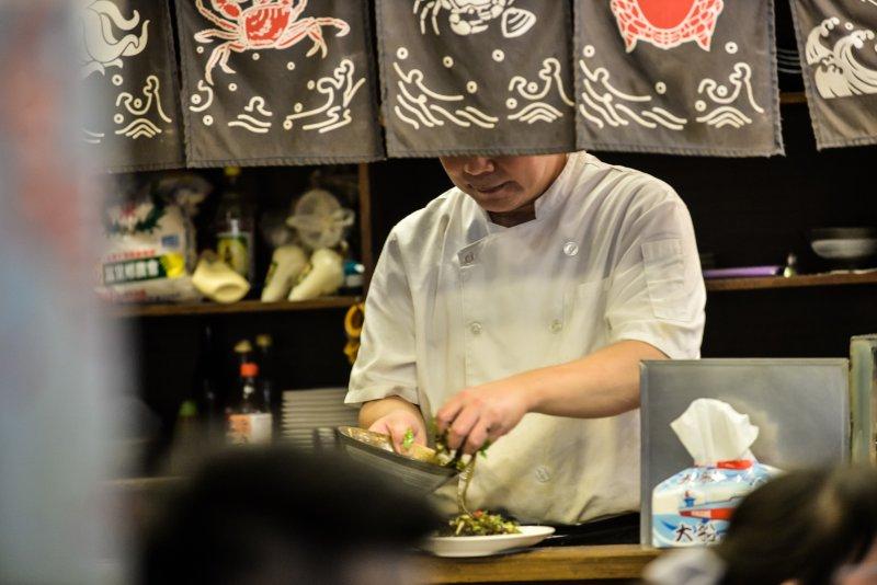 20161022-上祚專題配圖-各種不同職業勞工-廚師。﹝甘岱民攝﹞
