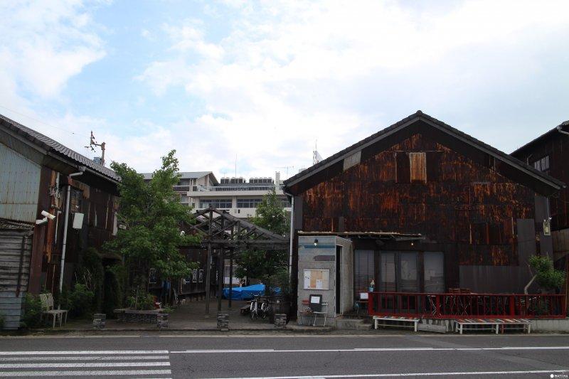 被保留下來的舊倉庫。(圖/matcha提供)