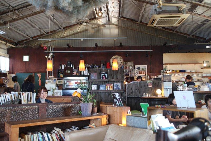 umie是「北濱alley」人氣很高的咖啡店。(圖/matcha提供)