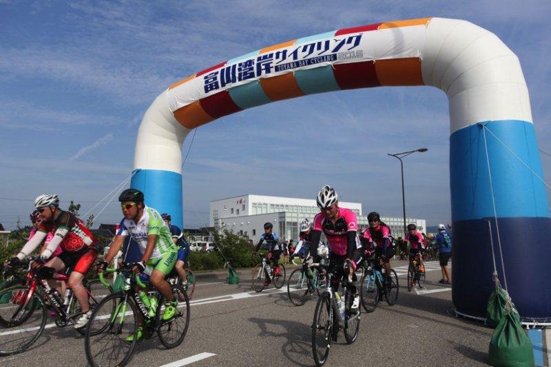 富山灣岸自行車騎行運動。(圖/matcha提供)