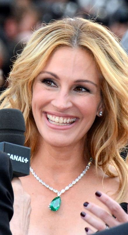 知名女星茱莉亞羅勃茲(Julia Roberts)(Georges Biard@Wikipedia/CC BY-SA 3.0)