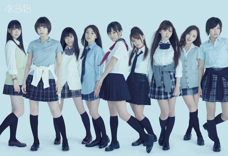 俘獲無數宅男的少女組合AKB48。(宣傳海報)