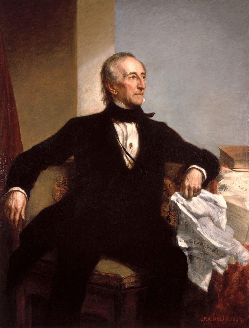 哈里森副手約翰泰勒。(wikipedia/public domain)