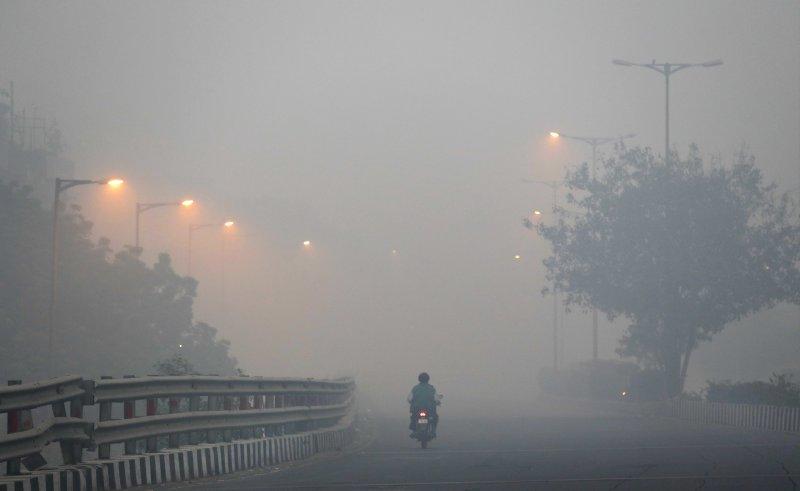 南亞人口眾多、環保法規不彰,有最多兒童受嚴重空汙威脅。(美聯社)