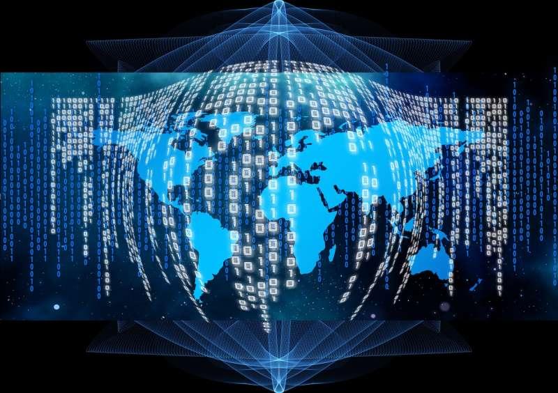 不僅僅在金融業,區塊鏈技術在非金融領域的應用更加寬廣。(圖/geralt@pixabay)