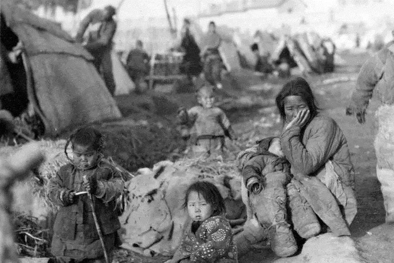 1927~1930年,是巨大的災荒歲月。