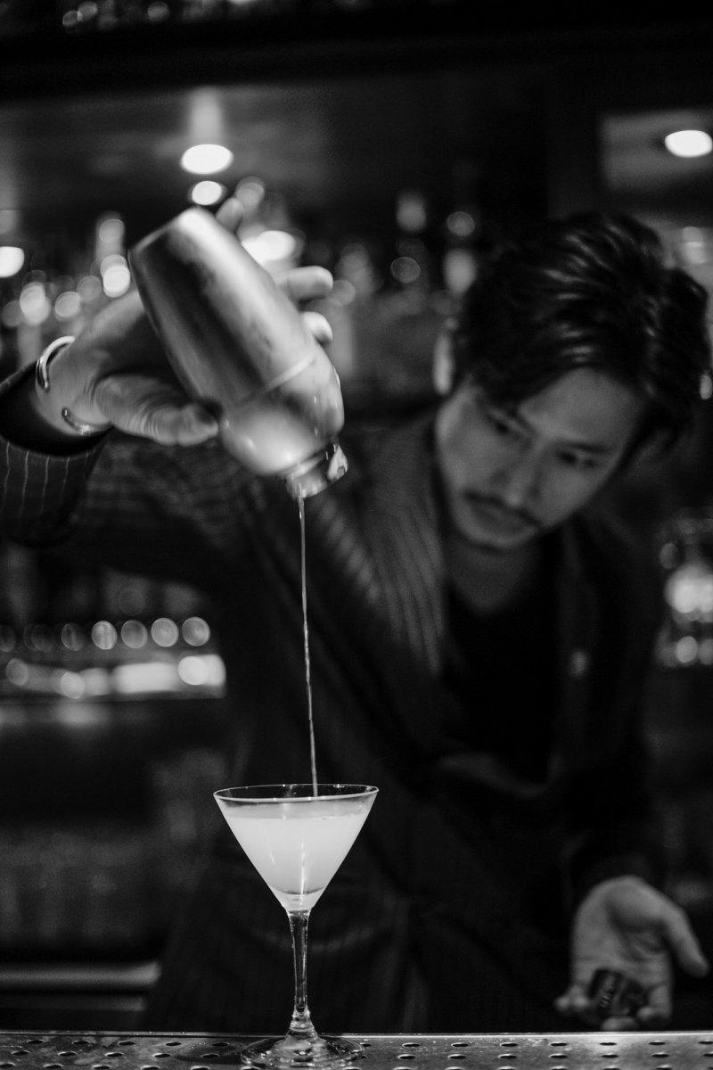 「INGE'S特調」由特別聘請台灣排名第一的酒吧老闆Angus所調製。(圖/台北萬豪酒店提供)