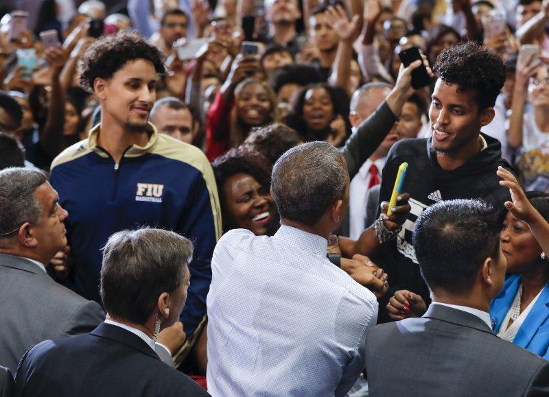 2008年11月4日,歐巴馬當選美國史上第一位黑人總統。(美聯社)