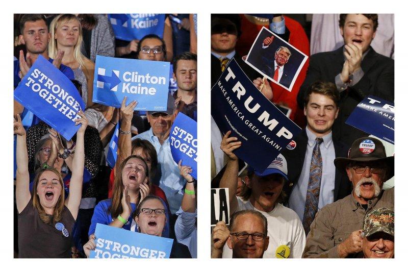 美國選民如何看待這次的大選?(美聯社)