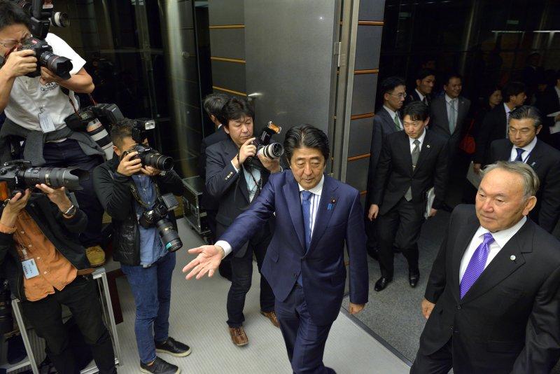 日本首相安倍晉三(AP)