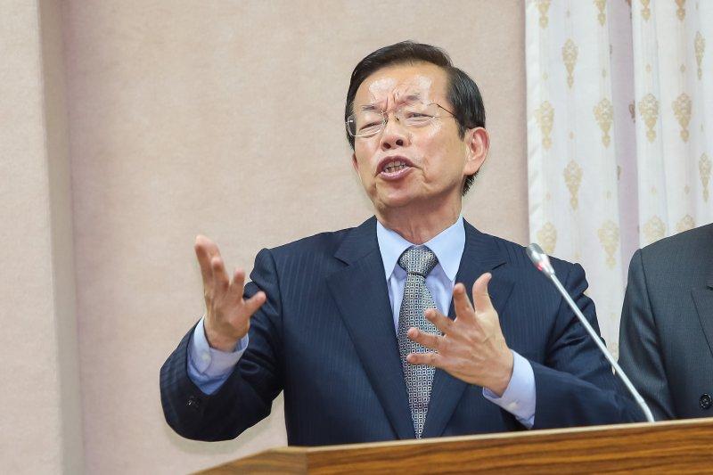 20161110-駐日代表謝長廷10日於立院外交國防委員會備詢。(顏麟宇攝)