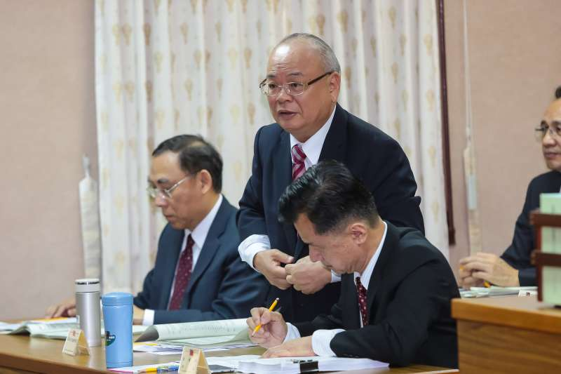 20161110-檢察總長顏大和10日至立院備詢。(顏麟宇攝)