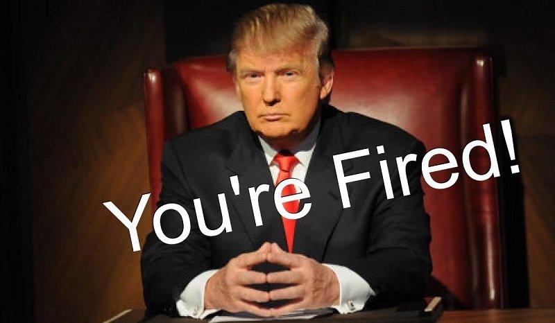 You are fired是川普主持「誰是接班人」常講的一句話。