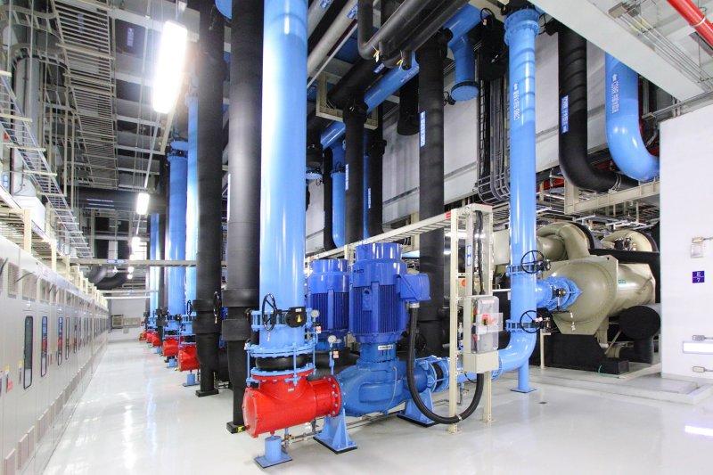 冰機隨季節外氣變化調整供應溫度(四季交響曲)。(圖/工研院提供)