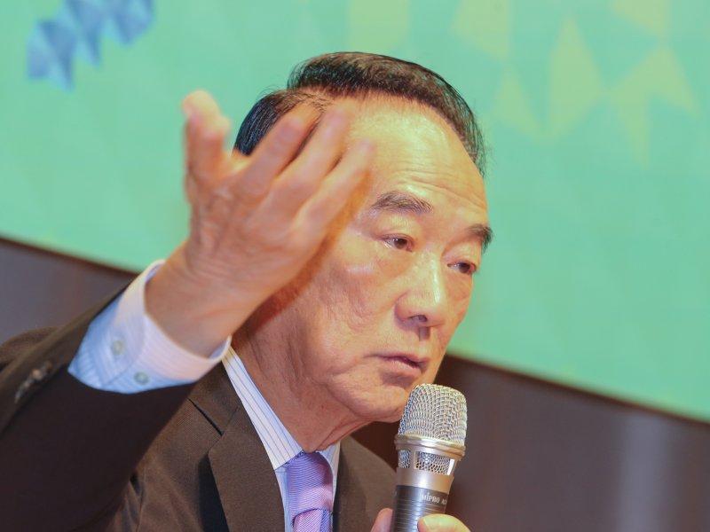 20161111-APEC經濟領袖會議「宋領袖代表行前國際記者會」.領袖代表宋楚瑜.(陳明仁攝)