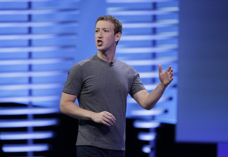 臉書創辦人祖克柏(Mark Zuckerberg)(AP)