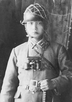 朴正熙在日本軍校就讀時的照片。(wikipedia/public domain)