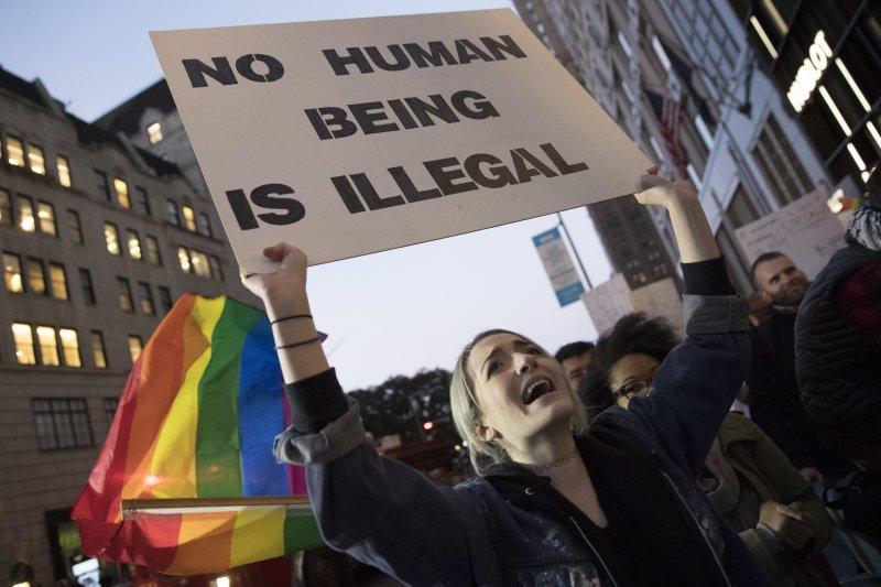 川普當選令LGBTQ族群十分憂慮自己的基本人權將被剝奪。(美聯社)