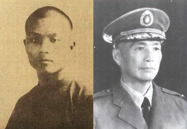HW李媽兜與蔡孝乾。(第三屆模擬憲法法庭)