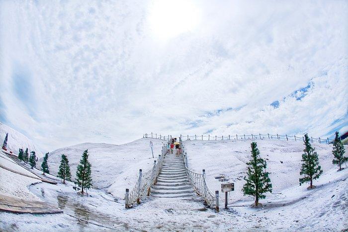 七股鹽山。(圖/錢得樂@flickr,KKDAY提供)