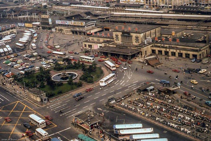 1980年,第三代台北車站。(圖/張哲生提供)
