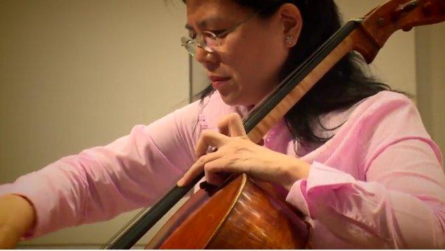 國際知名音樂家簡碧青。(擷取自Youtube)