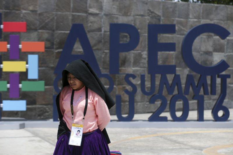 亞太經濟合作會議(APEC)2016利馬年會在秘魯首都利馬(lima)舉行(AP)