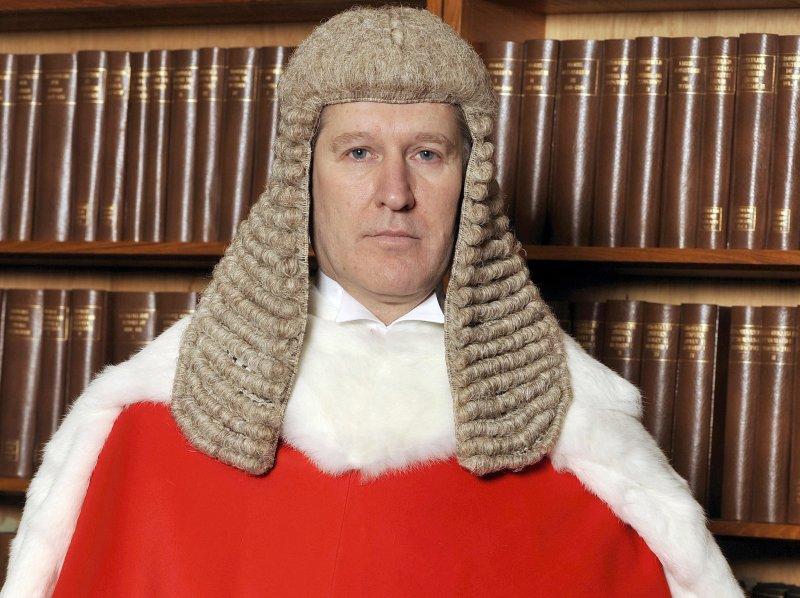 英國倫敦高等法院(High Court)法官傑克森(Peter Jackson)(AP)