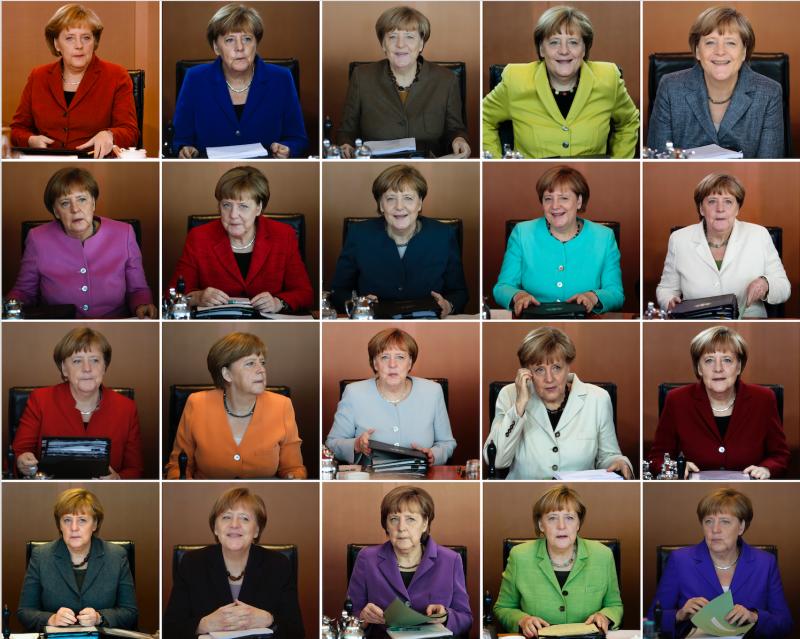 德國總理梅克爾。(美聯社)