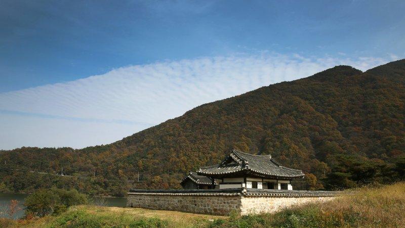 韓國忠清北道槐山有著美麗山景。(圖/Republic of Korea@flickr)