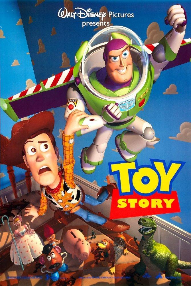 皮克斯首部長篇全電腦動畫電影《玩具總動員》(翻攝IMDb)