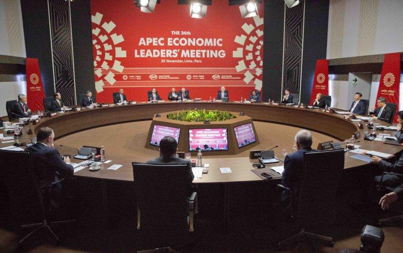APEC領袖峰會。(美聯社)