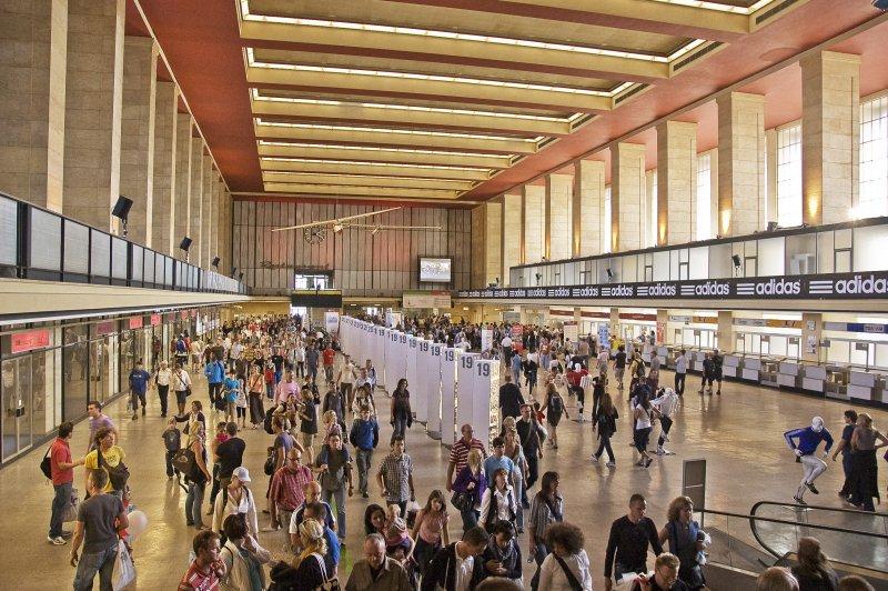 原騰普霍夫機場航廈獲得保留,頗受遊客青睞。(圖/作者提供)