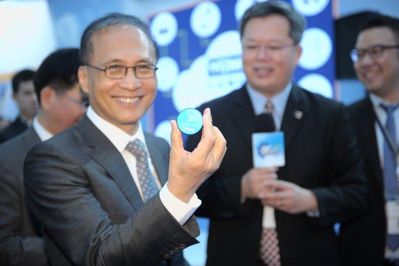 2016-11-23行政院長林全出席2016台灣國際工具機展開幕典禮。(取自行政院網站)